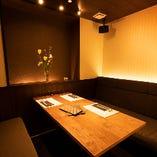 防音設備もついた完全個室。プライベート空間をご提供します。
