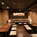 ■30名様ゆったり、個室有り!デザイナーの素敵な個室で宴会■