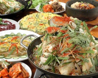 韓国食堂ジョッパルゲ  コースの画像
