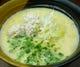 コーチンのガラを長時間煮込み濃厚なスープに仕上げました。