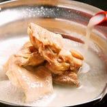 名古屋コーチンの水炊き鍋