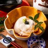 【自家製の豆腐】 職人が手間暇かけて作る当店ならではの逸品
