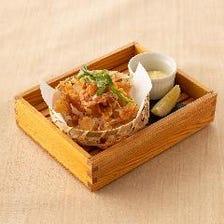 真鯛のパリパリ揚げ煎餅 ~黒七味塩~