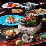 懐石「高砂 -たかさご-」 焼物を「能登牛」のステーキでご用意する特別コース