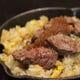 肉のせガーリックライス ご飯ものも多数ご用意!