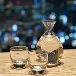 利き酒師の店長が厳選した日本酒もご用意しております