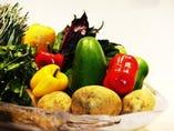 野菜をふんだんに使用した料理!!