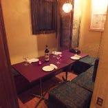 テーブル席半個室(2~6名様)