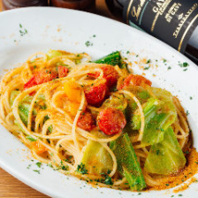 サルデーニャ産カラスミのペペロンチーノ