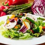 10種の野菜のMIXサラダ