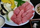 壱岐牛カルビ定食