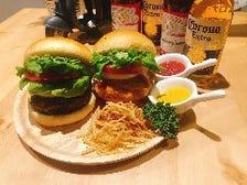 ハンバーガープレート ~ポテト付き~