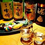 【日本酒】店長こだわりの銘柄を限定入荷しております。