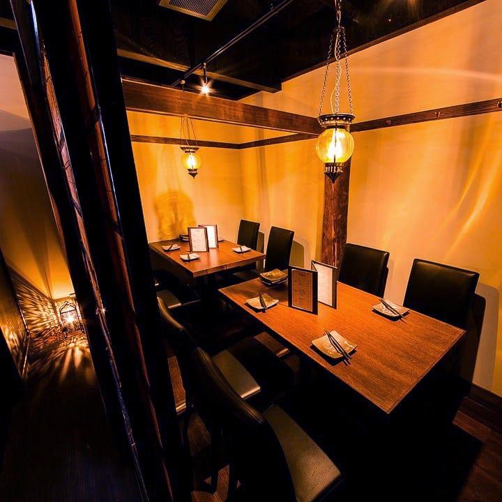 【席のみ予約】2〜16名のいろんなシーンに合うテーブル席
