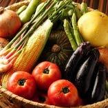 産地こだわり焼野菜