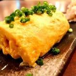 白石の竹鶏たまごの出汁巻き玉子