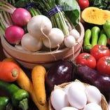 旬の新鮮な野菜を使用【宮城県】