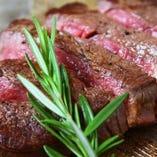 絶品のステーキをゆったり個室で味わう贅沢。