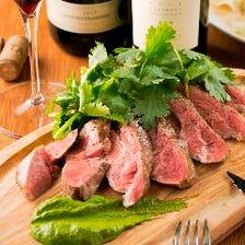 酒がすすむ!!肉汁溢れるJILLの肉料理