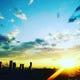 ★きれいな夕日が見れるかも…