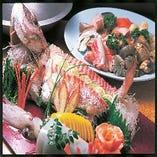 『極上姿造+選べる鍋+一品+揚焼コース』 飲み放題90分付 7000円
