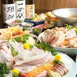 【宴会コースは飲み放題付4,000円からご用意しております。
