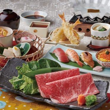 かごの屋御膳 国産牛しゃぶしゃぶ 2490円(税抜)