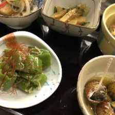 京料理がたくさん詰まったコース料理