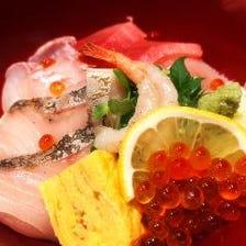 松月亭名物「海鮮丼」