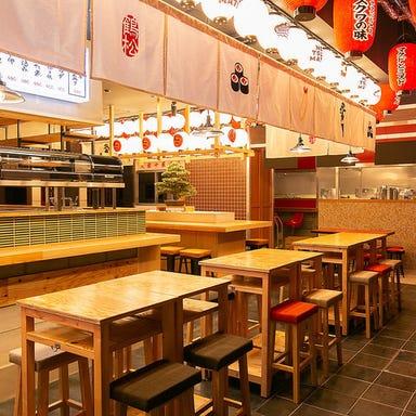 天ぷらと海鮮 ニューツルマツ 心斎橋パルコ店 店内の画像