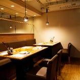 薬膳火鍋 眞巴石(シンバセイ) 上野本店 お席のご案内 ーご宴会向けテーブル席ー