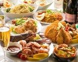 多国籍の料理は、女性客に大人気!!