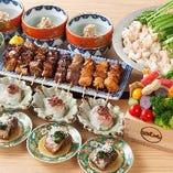 当店自慢のもつ料理が存分にご堪能いただける宴会コースです!