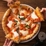 ナポリピザ25種ご用意。長野のイタリアンならLOGICへ。