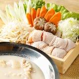 濃厚地鶏パイタン鍋(1人前)