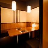 【少人数用個室】 2名様から完全個室にご案内いたします