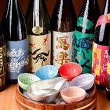 【日本酒】 全国各地から仕入れる旬の地酒が多数◎利き酒も