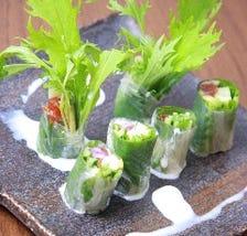 旬の野菜を使用