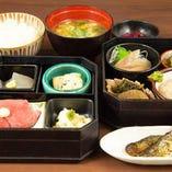 ランチタイム限定10食『円相御膳』 贅沢ランチを楽しめます