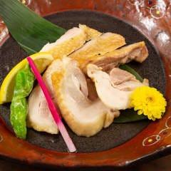 奥美濃古地鶏の塩焼き