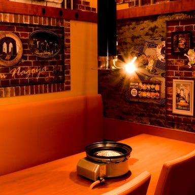 焼肉×赤から鍋 赤から ひたちなか昭和通り店 店内の画像