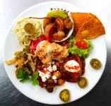 メキシコのお惣菜7種盛り