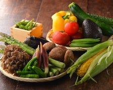 旬の野菜だけ天ぷらコース