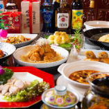 【多彩なコース】 海鮮料理や本格中華料理など多彩な料理を堪能