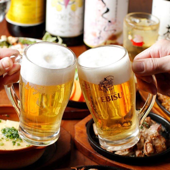 1800円で酔う至福料理1品+飲み放題