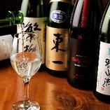 三重県の地酒をはじめ、全国の銘酒をご用意しております。