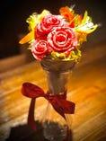 【要予約】〜大切な人へ贈る〜花ロースブーケ