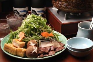 水菜と鯨のコラボレーション!はりはり鍋2,530円