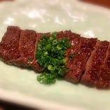 鯨肉みそステーキ