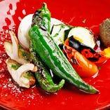 グランドメニュー以外にも、地元奈良県の食材を使用した日替わりメニューをご用意しております。